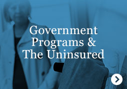 Government Programs and The Uninsured