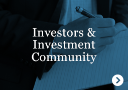 Investors and Investment-community
